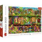 Trefl: Tündér könyvespolcok - 1500 darabos puzzle