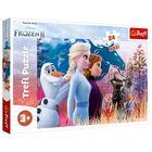 Trefl: Frozen 2. Călătoria magică - puzzle maxi cu 24 piese