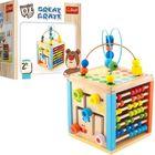 Trefl: Wooden Toys - Centru de activități Great Crate