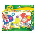 Crayola: Spirál állatok rajz sablon készlet