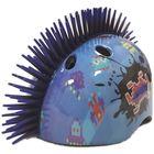 TuffNutz: Extraterestru Mohican 3D cască de protecție care schimbă culoarea - 52-55 cm