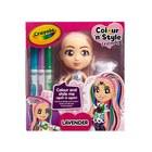 Crayola: Colour n Style Dolls - Lavender