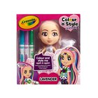 Crayola: Colour n Style Friends - Lavender