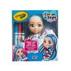 Crayola: Colour n Style Dolls - Sky