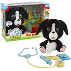 Emotion Pets: Pityergő kiskutya állatorvosi szett - fekete