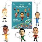 EURO 2020: Sztárfocisták kulcstartó meglepetés csomagban