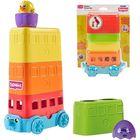 Tomy: Toomies Ouă colorate autobuz cu etaj