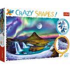 Trefl: Crazy Shapes Hajnal Izland felett 600 db-os puzzle