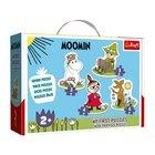 Trefl: Mumin-völgy baby puzzle táskában