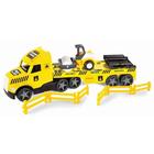 Wader: Magic Truck Technic kamion úthengerrel, 79 cm