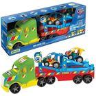 Wader: Magic Truck Basic kamion buggy autókkal, 79 cm