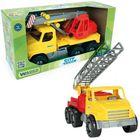 Wader: City Truck tűzoltóautó létrával, 48 cm