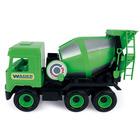 Wader: Middle Truck betonkeverő, 38 cm - zöld