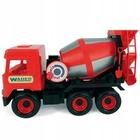 Wader: Middle Truck betonkeverő, 38 cm - piros