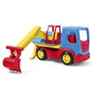 Wader: Tech Truck camion cu excavator - 15 cm