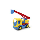 Wader: Tech Truck kosaras darus autó - 32 cm