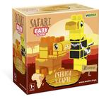 Wader: Baby Blocks Safari építőkockák - strucc és teve