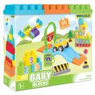 Wader: Cuburi de construcție pentru bebeluși - 50 buc.