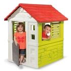 Smoby: Állatkás kerti házikó - piros-zöld
