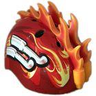 TuffNutz: Flăcări 3D cască de protecție