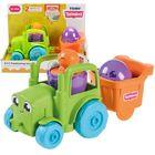Toomies: Tractor convertibil 2-în-1 - verde