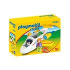 Playmobil 1.2.3.: Avion cu pasager - 70185