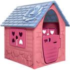Első házam kerti játszóház - rózsaszín - CSOMAGOLÁSSÉRÜLT