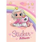 Herma: Prințesă și unicorn - album pentru abțibilduri