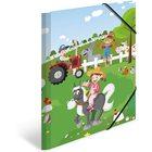Herma: farm mintás gumis mappa