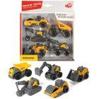 Dickie Toys: Volvo Micro Workers - set cu 5 piese