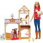 Barbie: Barbie fermier cu animăluțe