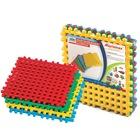 Gorfi műanyag építőjáték, alap elemek - 4 db