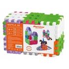 Vafe mici - jucărie de construcție din plastic, 36 piese