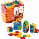 Vafe medii - jucărie de construcție din plastic, 24 piese