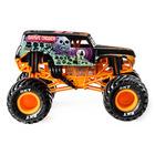Monster Jam: Mașinuță Grave Digger - negru-portocaliu, 1:24