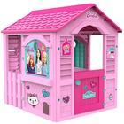 Barbie: Rózsaszín kerti játszóház