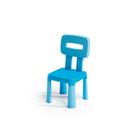 Scaun din plastic - albastru deschis