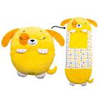 Happy Nappers: 2 az 1-ben hálózsák és párna - Sárga kutyus