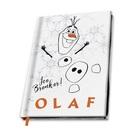 Disney Jégvarázs: Jégvarázs 2 Olaf jegyzetfüzet, A5