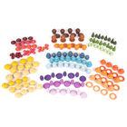 TickiT: Set starter de comori colorate din lemn - 168 de bucăți