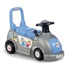 Mașinuță fără pedale - albastru-gri