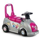 Mașinuță fără pedale - pink-gri