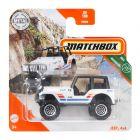 Matchbox: Mașinuță Jeep 4x4 - alb