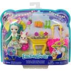 Enchantimals: Set de joacă Bunny Blooms - Fluffy Bunny și Mop