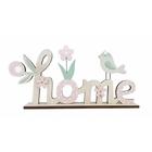 Fa home felirat dekoráció - 29 cm