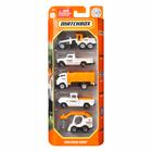 Matchbox: Set de 5 mașinuțe - MBX Road Crew