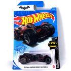 Hot Wheels Batman: Arkham Knight Batmobile kisautó - bordó