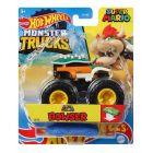Hot Wheels Monster Trucks: Super Mario - Mașinuță Bowser