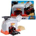 Hot Wheels Monster Trucks: Team Bone Shaker kilövő szett