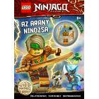 LEGO Ninjago: Az arany nindzsa - Foglalkoztatókönyv Lloyd minifigurájával
